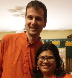 Photo of Nisha and Patrik
